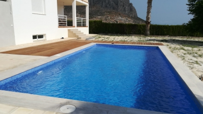 Piscina en Vivienda Unifamilliar. Beniarbeig (Alicante)