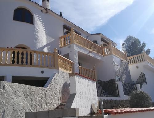 Diseño Terrazas Exteriores en Vivienda. Orba (Alicante)