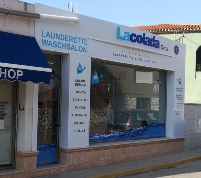 Lavanderia Autoservicio, Orba (Alicante)